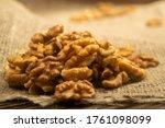 Peeled Walnuts In Bulk On A...