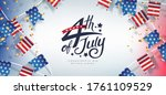 independence day usa banner... | Shutterstock .eps vector #1761109529