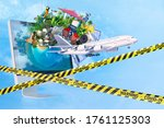 travelling  tourism  holiday... | Shutterstock . vector #1761125303