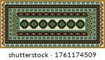 abstract geometric tribal print ...   Shutterstock .eps vector #1761174509