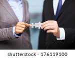 business and office concept  ... | Shutterstock . vector #176119100