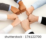 business and teamwork concept   ...   Shutterstock . vector #176122700