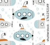 vector hand drawn color... | Shutterstock .eps vector #1761252149
