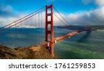 The Famous Golden Gate Bridge ...