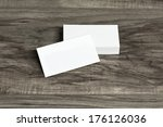 blank corporate identity... | Shutterstock . vector #176126036
