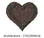 Chocolate Heart Flake Grated...