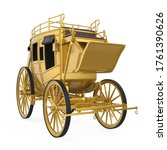 Vintage Golden Carriage...
