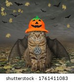 The Beige Cat With Bat Wings I...