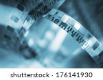 film reel | Shutterstock . vector #176141930