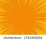 comic book background. radial...   Shutterstock .eps vector #1761443036