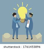 this is an illustration which...   Shutterstock .eps vector #1761453896