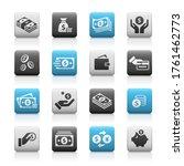 money icons    matte series | Shutterstock .eps vector #1761462773