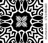 geometric modern vector... | Shutterstock .eps vector #1761483683