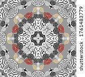 geometric modern vector... | Shutterstock .eps vector #1761483779