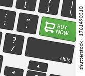 Keyboard Buy Now. Illustration...