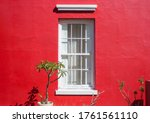 White Tall Window In Vibrant...