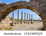Ruins Of The Ancient Lycian...