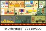house | Shutterstock .eps vector #176159300