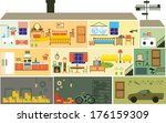house | Shutterstock .eps vector #176159309