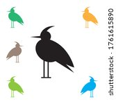 water bird icon  isolated on... | Shutterstock .eps vector #1761615890