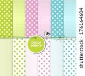 paper background  digital paper ... | Shutterstock .eps vector #176164604