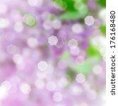 Purple Abstract Festive Bokeh...