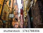 corniglia  italy   july 8  2017 ... | Shutterstock . vector #1761788306