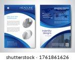 template vector design for... | Shutterstock .eps vector #1761861626