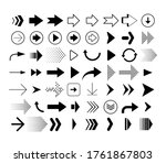 collection of different shape... | Shutterstock .eps vector #1761867803