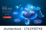 secure payment isometric... | Shutterstock .eps vector #1761930743