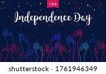 happy 4th of july vector... | Shutterstock .eps vector #1761946349