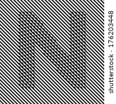 letter n   optical  illusion...   Shutterstock .eps vector #176203448