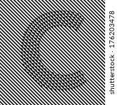 letter c   optical  illusion... | Shutterstock .eps vector #176203478