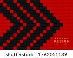 red and black geometric ... | Shutterstock .eps vector #1762051139
