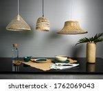 Bamboo Lampshade Handicraft...
