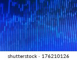 Blue Abstract Background Scree...