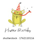 Funny Cute Birthday Card With...