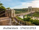 Daxi Suspension Bridge In...