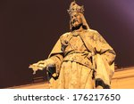 Statue Of The Czech King...