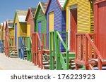Bright Crayon Colored Beach...