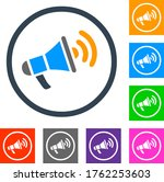 announcement icon vector... | Shutterstock .eps vector #1762253603