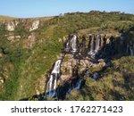Waterfall At Fortaleza Canyon...