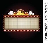 star neon sign for text banner | Shutterstock .eps vector #1762285040