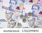 Background Made Of Hryvnia...