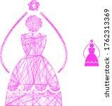 web network bride vector icon.... | Shutterstock .eps vector #1762313369