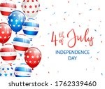 text independence day 4th of... | Shutterstock .eps vector #1762339460