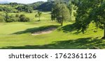 Landscape Of A Golf Course In...