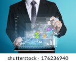 touch screen  touch  tablet in... | Shutterstock . vector #176236940