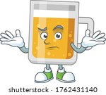 a cartoon image of glass of... | Shutterstock .eps vector #1762431140