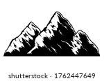 illustration of mountain in... | Shutterstock .eps vector #1762447649